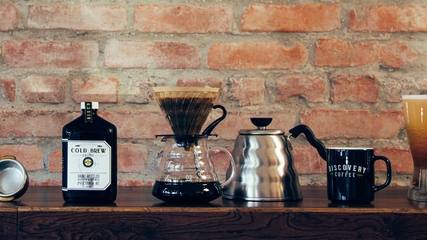Coffee Brewing Lineup